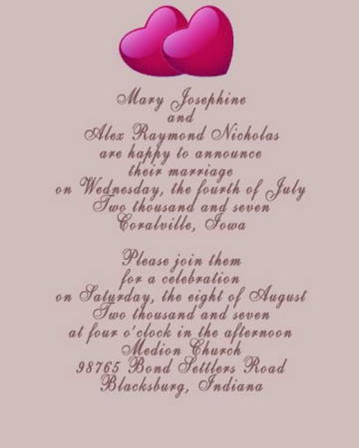 Funny Wedding Invitation Sayings