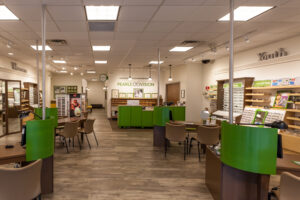 interior of pearle vision