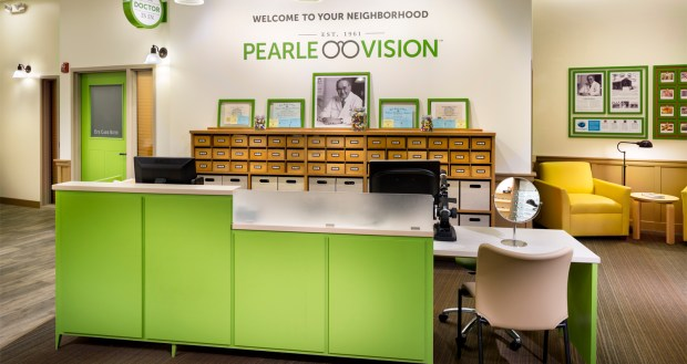 interior image of Pearle Vision location