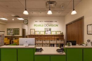 Pearle Vision front desk