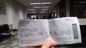 Air Ticket to LGA