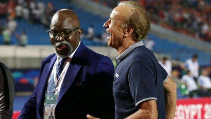 Pinnick,Rorh  set to be at War Again over choice for Super Eagles stadium for WC/Qualifierss