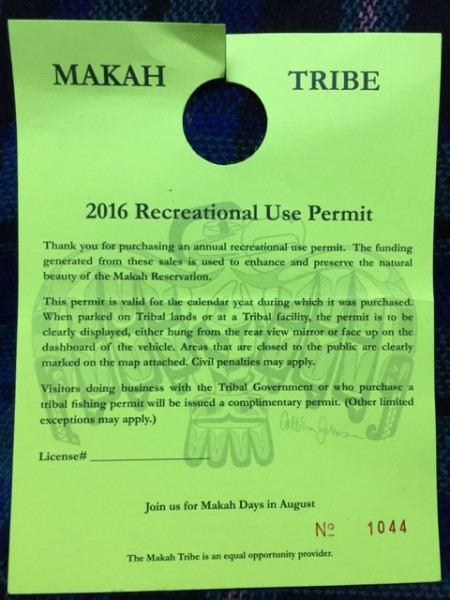 $10 permit required to explore tribal lands, including the trails we hiked today. Seems a pittance, considering...