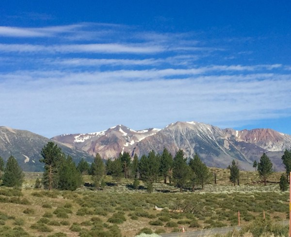 Just south of the June Lake Loop, on Hwy 395? A whole lot of wow.