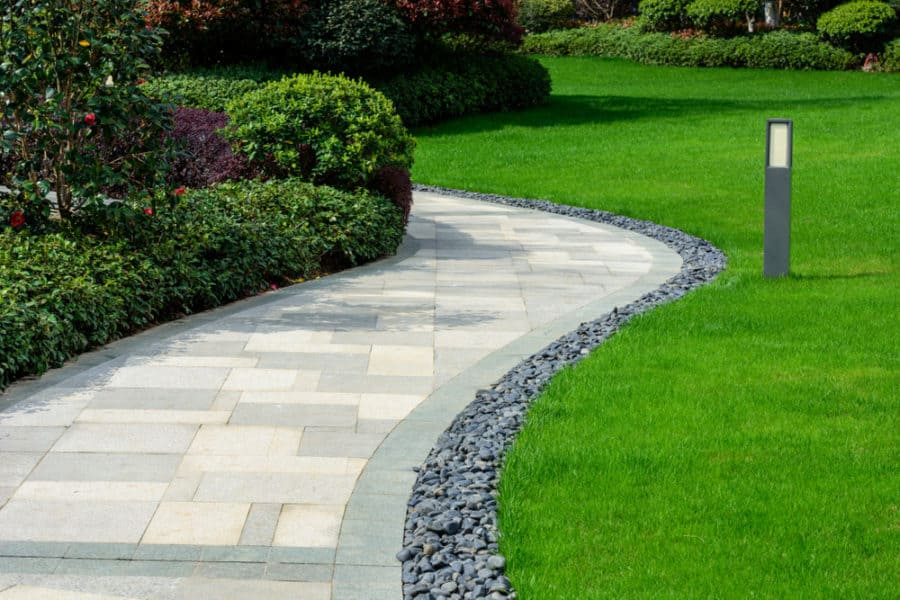 24 Walkway Ideas, Designs, Pictures, and Tips for Your ... on Side Yard Walkway Ideas id=55053