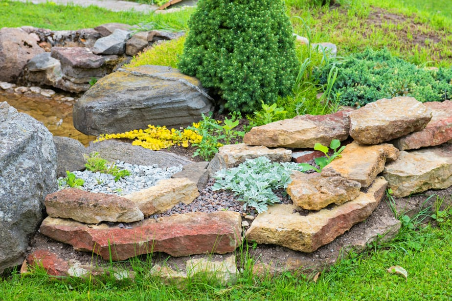 21 Amazing Rock Garden Ideas to Inspire! {Updated 2020 ... on Small Garden Ideas With Rocks id=15675