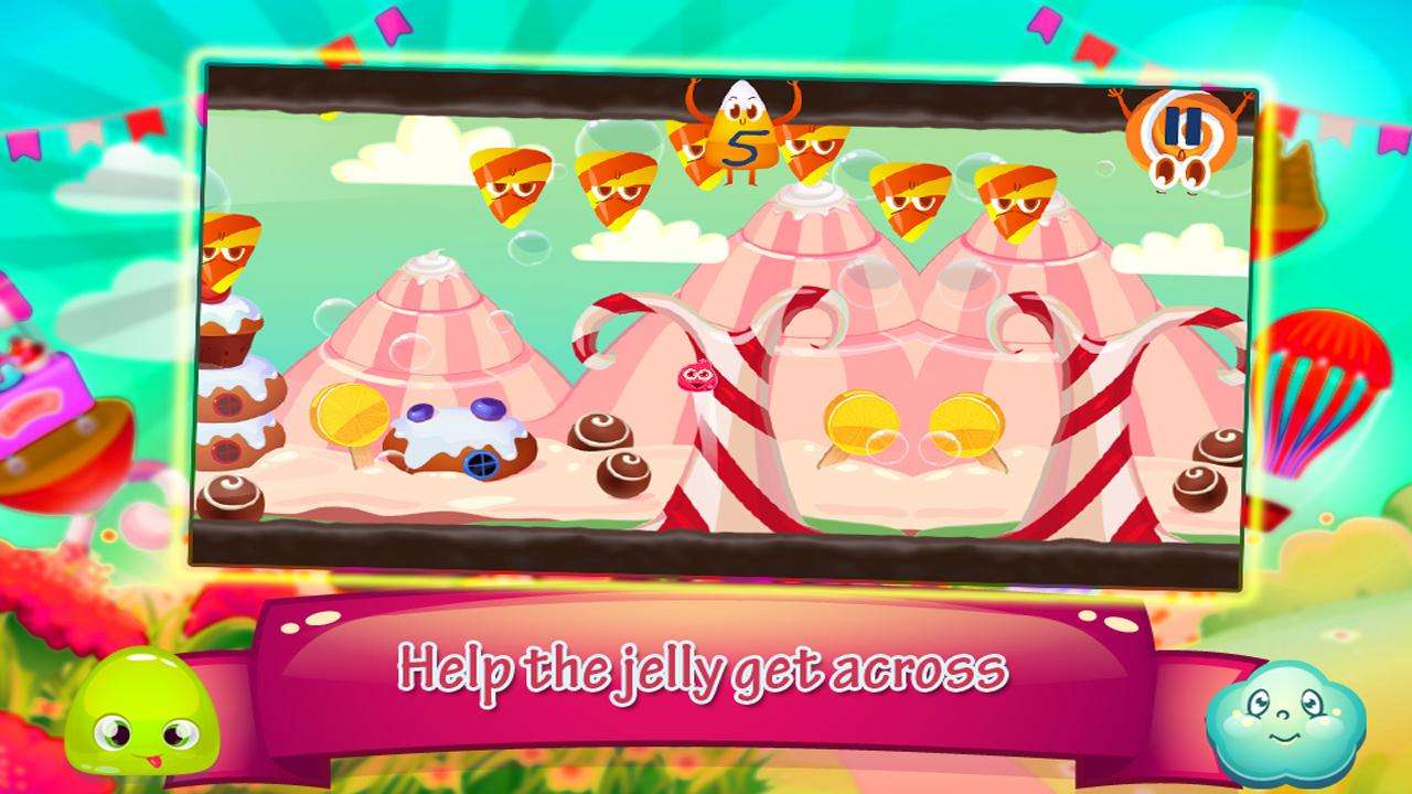 Jelly Bounce – Escape Candy Land