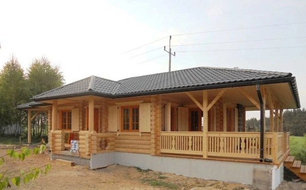 Wooden house plans French wooden home quotAchillequot 130 m178