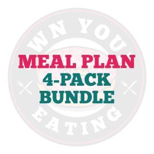 Meal Plan Bundle - 4 pack