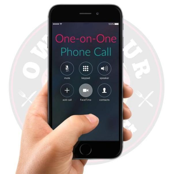 One-on-One Call - 30 minutes