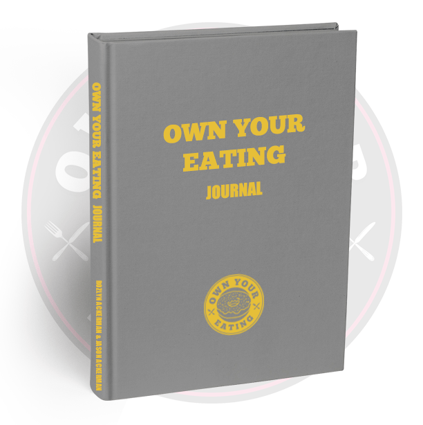 Own Your Eating Journal Cover