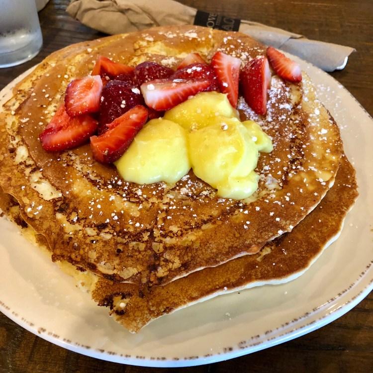 First Watch Lemon ricotta pancakes
