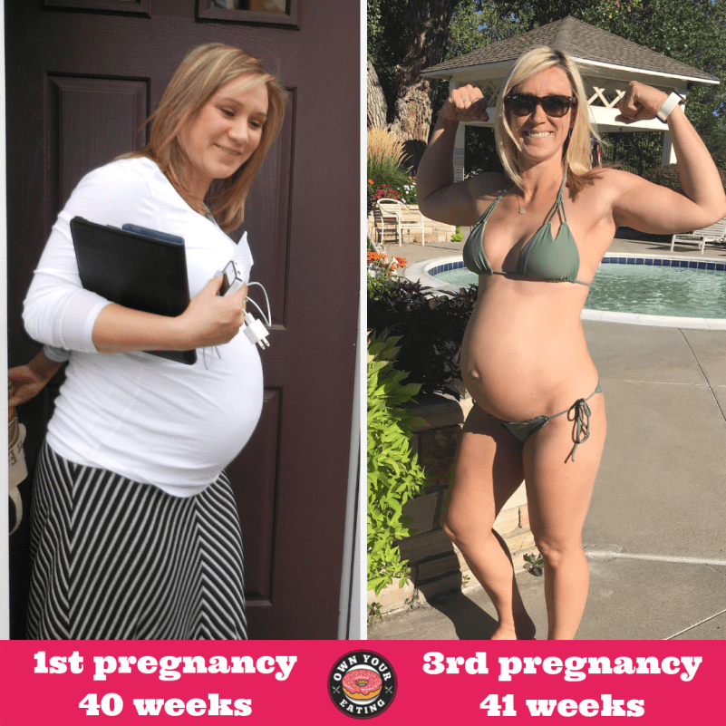 J-flo pregnancy transformation