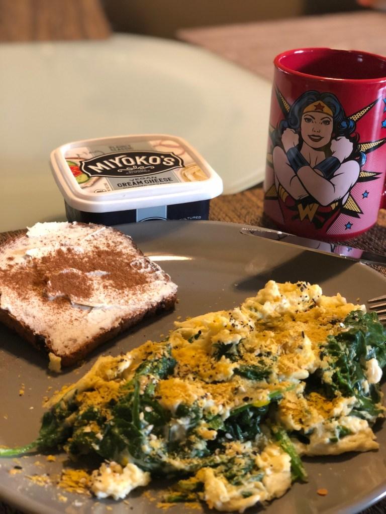 Mags' breakfast