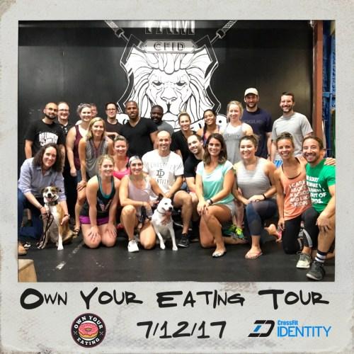 CrossFit Identity Tour Photo