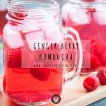 Ginger Berry Kombucha