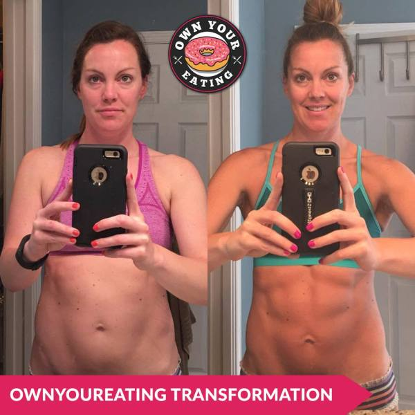 Own Your Eating transformation