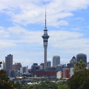 Auckland: Innenstadt mit Sky Tower
