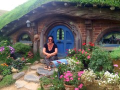 So Süß! Ja, natürlich auch das Hobbit Haus