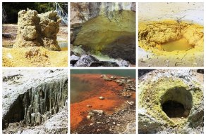 Wai-O-Tapu: Mineralien-Farbspiele