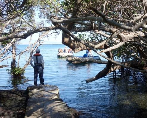 Galápagos, La Pinta, Fernandina, Punta Espinoza: Wet-Landing