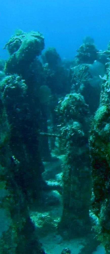 Mexiko, IslaMujeres, Diving Musa - Tauchen im Unterwassermuseum