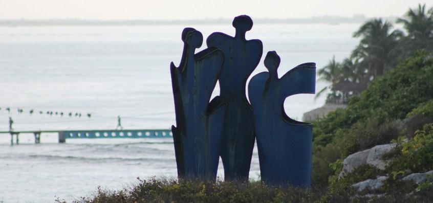Mexiko, Isla Mujeres: Punta Sur Skulpturenpfad