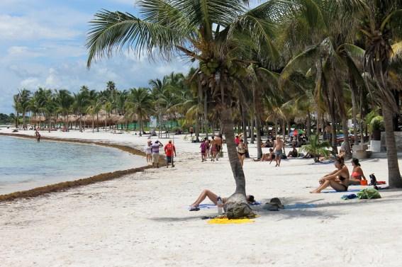 Mexiko, Tulum: Der Strand von Akumal