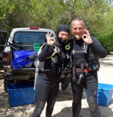 Mexiko, Tulum, Cenoten Tauchen, Casa Cenote: Bereit zum erstmaligen Abtauchen in eine Cenote