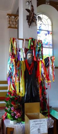 San Cristobal, Inglesia de Guadalupe: Bitten und Danksagungen auf mexikanisch