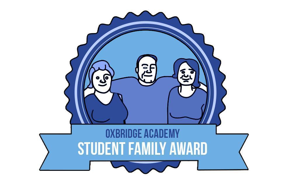 Congratulations to the Oxbridge Academy Student Family Award Winners!