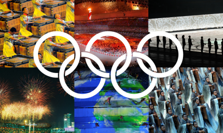 Working as an Events Manager at the Olympic Games Opening Ceremony