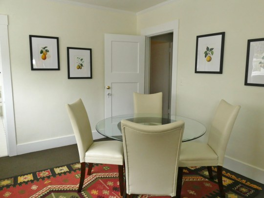 Furnished one-bedroom apartment, Berkeley CA, Oxford Property Management