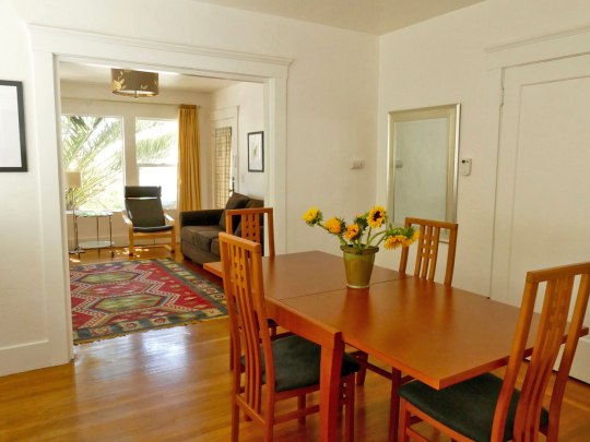 Dining room, Apartment 1707, Oxford Property Management, Berkeley CA