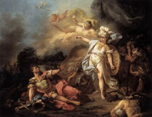 Pallas Athena and the God of War
