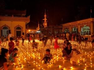 Burma's Full Moon