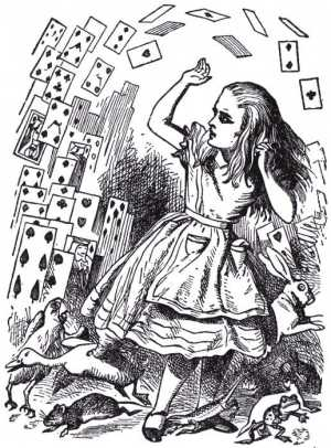 The Fabulous Chart of Alice in Wonderland