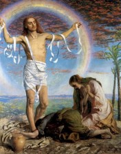 Christ Resurrected. Holman Hunt