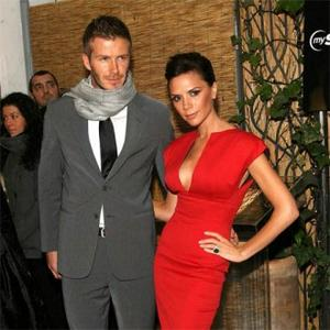 More glamourous together: David Beckham (Venus in Gemini, Mars in Pisces) meets Victoria Beckham ( Venus in Pisces, Mars in Gemini)