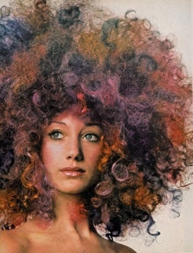 Marisa Berenson in Vogue some time in the 1970s.