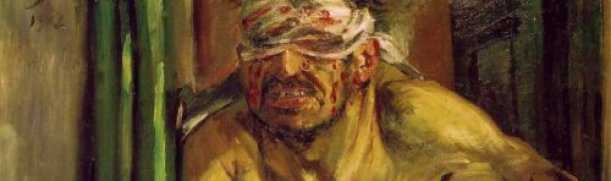 Detail of Samson Blinded by Lovis Corinth