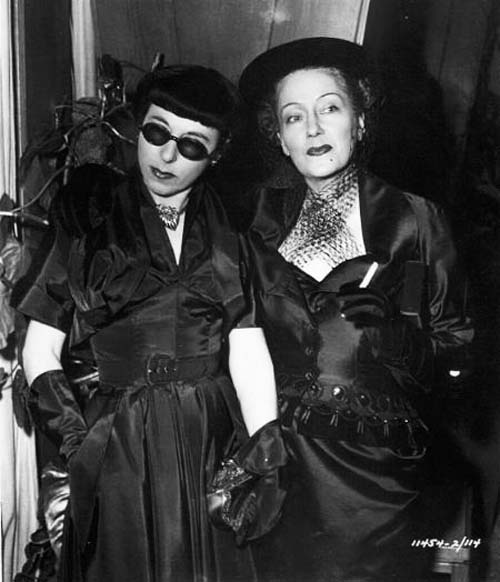 Edith Head and Gloria Swanson; Sunset Boulevard