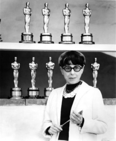Edith Head - Scorpio par excellence… and her Oscars
