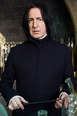 Severus Snape: the fictional incarnation of Saturn in Scorpio. Strict, pitiless, frightening, excellent and ultimately on the side of the good.