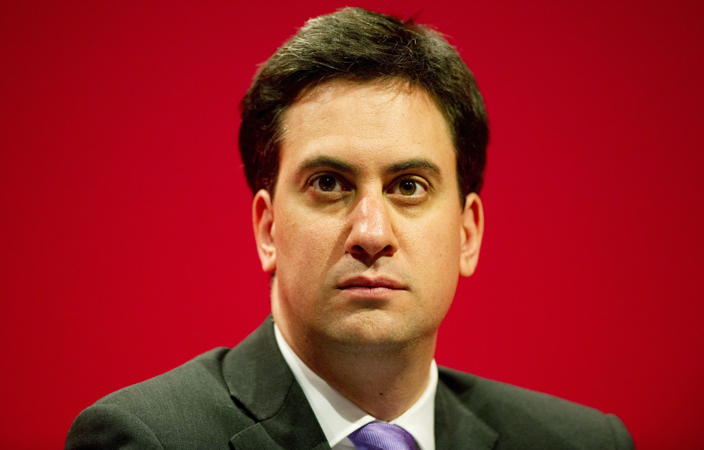 Ed Miliband: not really weird at all.