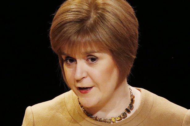 Nicola Sturgeon, leader of the Scottish Nationalists: smarter, swifter and more popular than any of her opponents. Sun in patriotic Cancer, Moon in community-minded (and popular) Aquarius, and calculating Scorpio Rising.