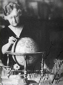 American astrologer Evangeline Adams had to fight several court cases (and win) in order to practice her profession.