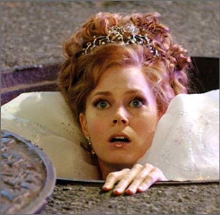 Amy Adams as a fairytale princess in Enchanted, Leo Sun, Gemini Rising