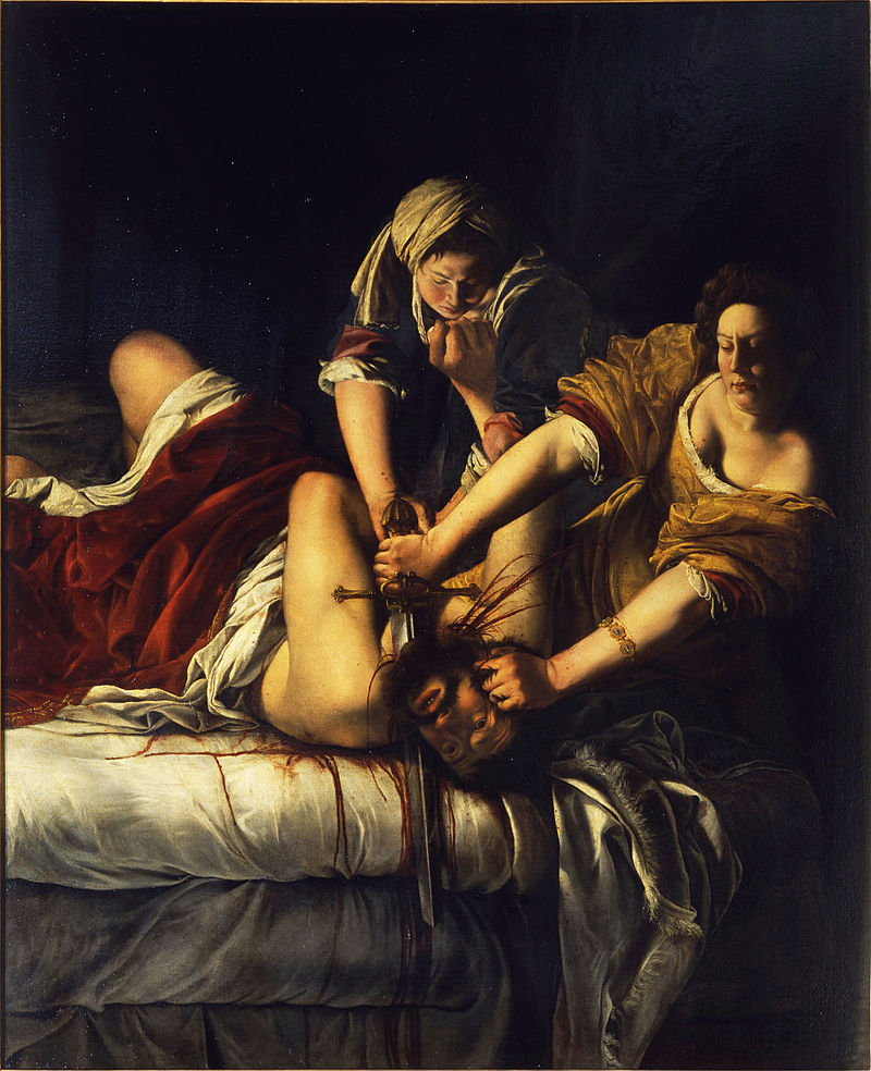 By Artemisia Gentileschi (1593-1653) Cancer Sun