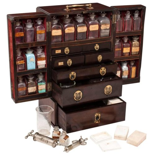 Apothecary's cabinet. From 1stdibs